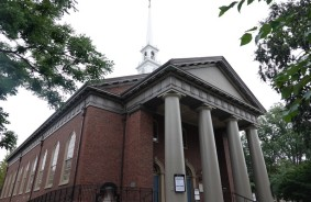 Cambridge - Université de Harvard - Eglise