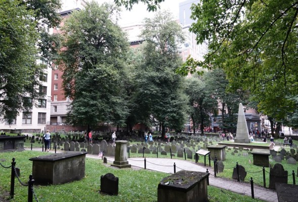 Boston - Freedom Trail - Granary Burying Ground