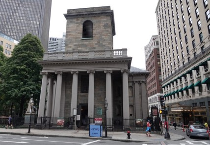 Boston - Freedom Trail - King's Chapel