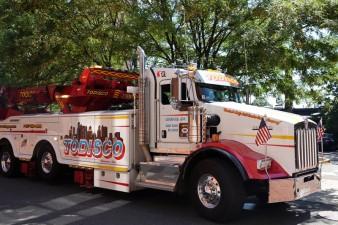 Salem - Camion américain à la taille démesurée...