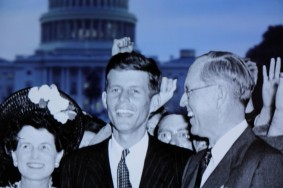Boston - John F. Kennedy Presidential Library and Museum - JFK et ses parents