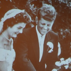 Boston - John F. Kennedy Presidential Library and Museum - Mariage avec Jackie Bouvier