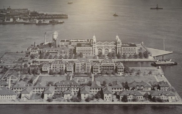 New York - Ellis Island, photo d'archives