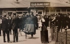 New York - Ellis Island, photo d'archives