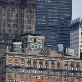 New York - Vue sur la Skyline depuis le ferry