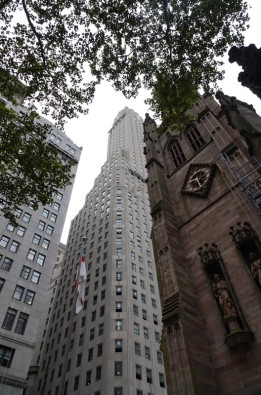 New York - Wall Street - Trinity Church