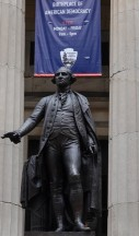 New York - Wall Street - Georges Washington