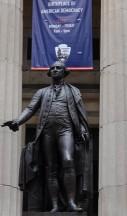 New York - Wall Street - Georges Washington