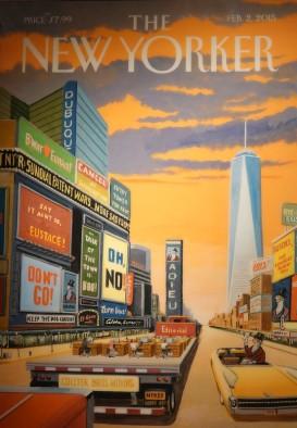 New York - 9/11 Museum - Une du New Yorker, One World Trade Center