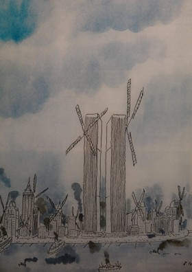 New York - 9/11 Museum - Une du New Yorker, 1975