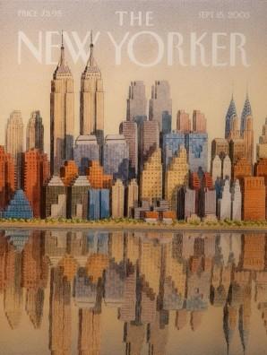 New York - 9/11 Museum - Une du New Yorker, 2003 - Hommage aux tours jummelles