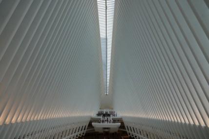 New York - Autour du 9/11 Memorial - Station PATH
