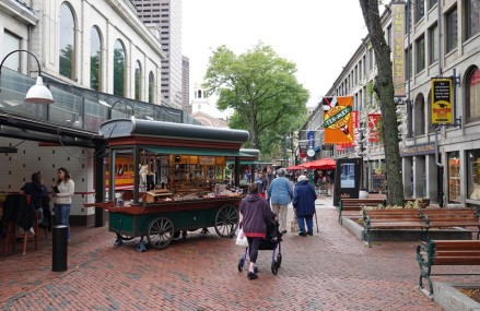 Boston - Freedom Trail - Quincy Market