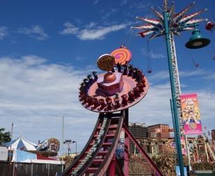 Coney Island - Lunapark - On est sur ce manège !