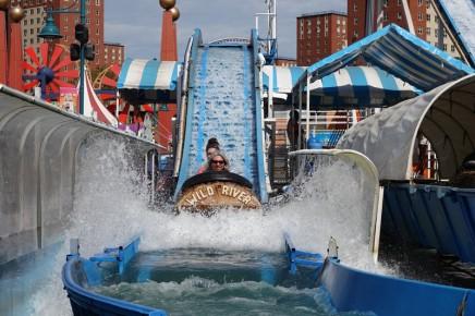 Coney Island - Lunapark - Même pas peur !
