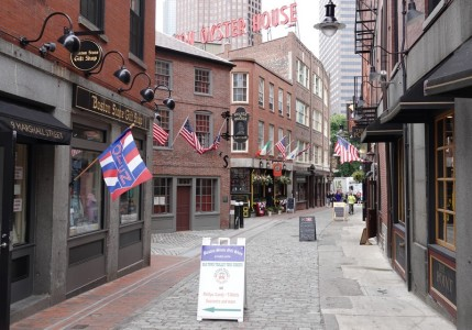 Boston - Freedom Trail - Non loin de Quincy Market