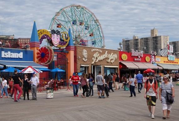 Coney Island - Les planches et leLunapark