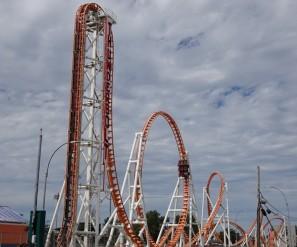 Coney Island - Lunapark - Un des manèges les plus impressionnants : on n'a pas testé !
