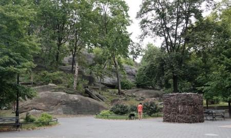 New York - Harlem- Parc Marcus Garvey