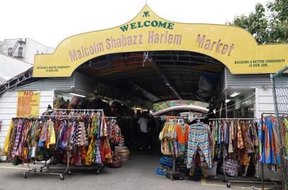 New York - Harlem - Malcolm Shabazz Harlem Market