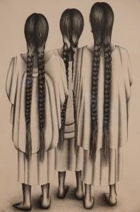 Musée des Beaux-Arts de Boston - Fransisco Dosamantes, Three Yalaltecan Women
