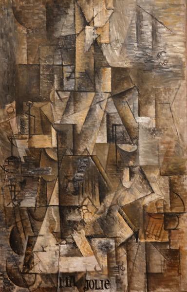 MoMA - Georges Braque - Le tableau est vraiment similaire à celui de Picasso ! Qui a influencé l'autre ?