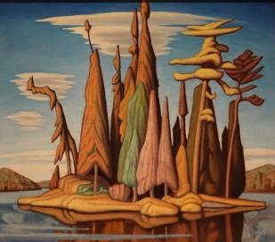 Musée des Beaux-Arts de Boston - Lawren Stewart Harris, Northern Painting