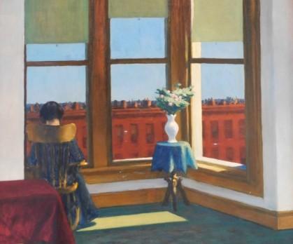 Musée des Beaux-Arts de Boston - Edward Hopper, Room in Brooklyn