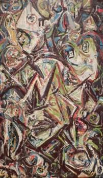 Musée des Beaux-Arts de Boston - Jackson Pollock, Troubled Queen