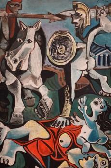 Musée des Beaux-Arts de Boston - Pablo Picasso, Rape of the Sabine Woman