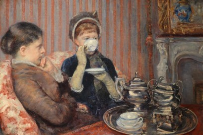 Musée des Beaux-Arts de Boston - Mary Stevensen Cassatt, The Tea