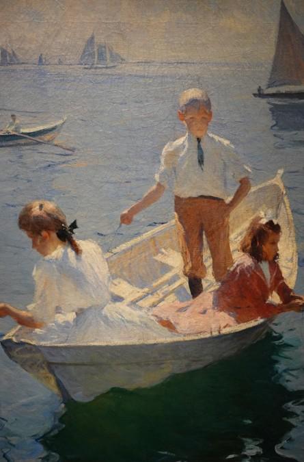 Musée des Beaux-Arts de Boston - Franck Benson, Calm Morning
