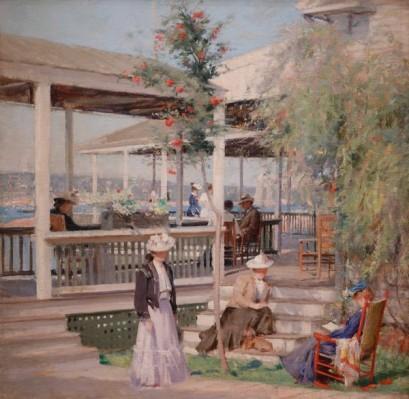 Musée des Beaux-Arts de Boston - Edward Wilbur Dean Hamilton, Summer at Campobello, New Brunswick