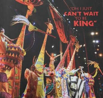 New York - Comédie musicale The Lion King (photo livret)