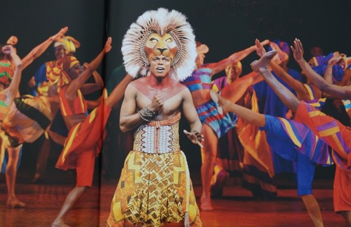 New York - Comédie musicale The Lion King (photo livret)