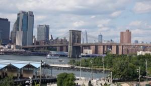 Brooklyn - Vue depuis la promenade Brooklyn Heights