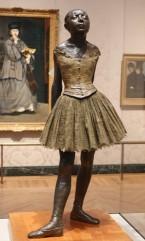 Musée des Beaux-Arts de Boston - Edgar Degas (et derrière, un tableau d'Edouard Manet)
