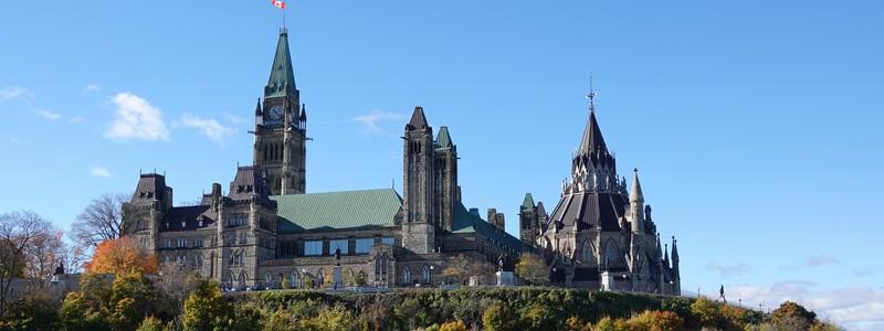 Belle journée à Ottawa, la capitale duCanada