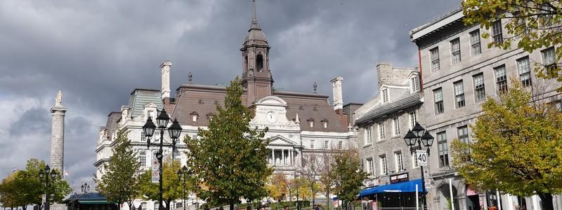 A la recherche du passé dans la vieille ville deMontréal
