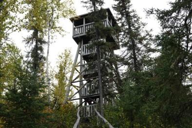 Moulin des Pionniers - Tour de feu pour prévenir les incendies