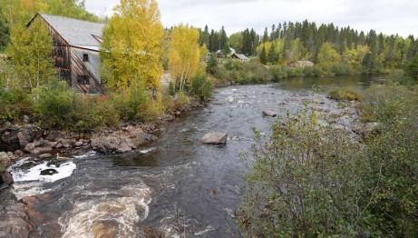 Moulin des Pionniers - Rivière qui borde le site