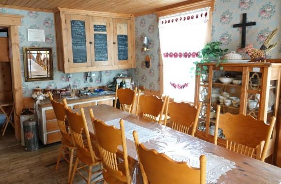 Moulin des Pionniers - Intérieur du restaurant