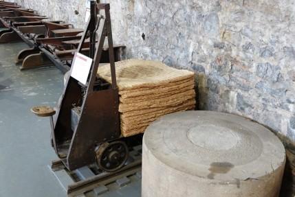Village historique de Val Jalbert - Feuilles de pâte mécanique pressée
