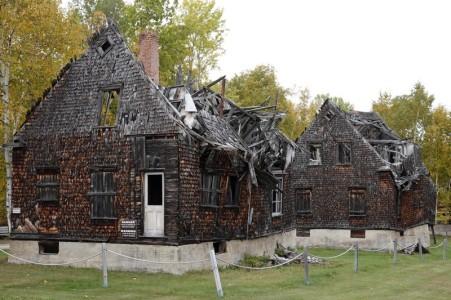 Village historique de Val Jalbert - Maisons non rénovées