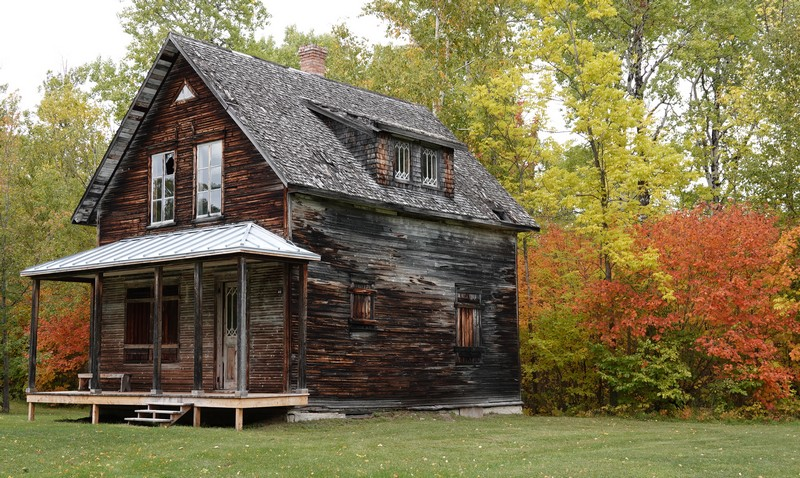 Village historique de Val Jalbert - Maison rénovée