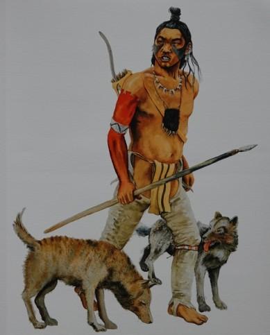 Musée amérindien de Mashteuiatsh - Exposition d'aquarelles de François Girard, d'après les recherches ethnographiques de Marc Laberge