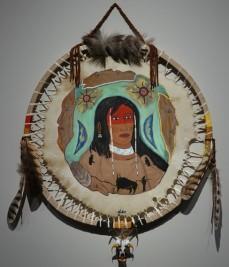 Musée amérindien de Mashteuiatsh - Salle consacrée aux artistes amérindiens - Norbert Roy