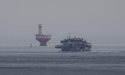 Tadoussac - Les gros bateaux d'observation des baleines