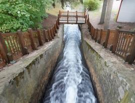 Trois Rivières - Moulin Seigneurial de Pointe-Du-Lac - Parc et chute d'eau