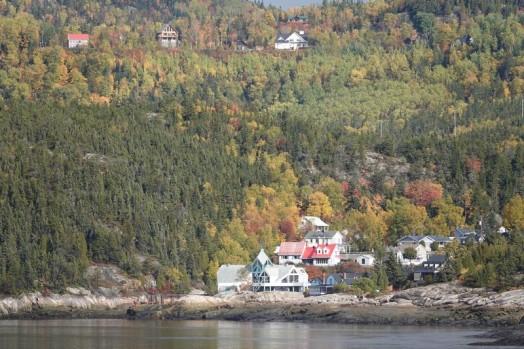 Baie Sainte Catherine - Vue sur Tadoussac depuis l'Observatoire de Pointe Noire